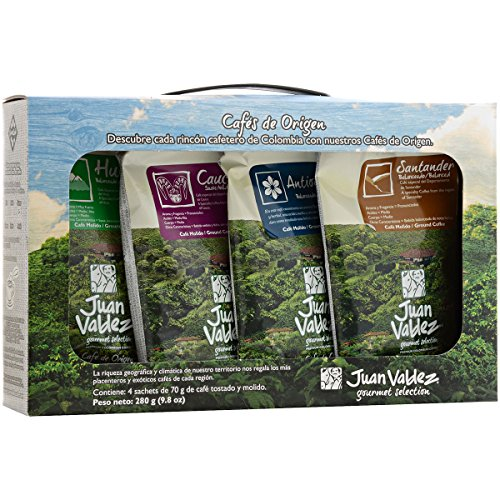 Coffee Consumers Juan Valdez Ground Coffee Kit (Single Origin)