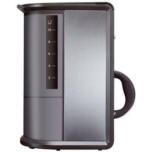 Krups Coffee Maker Km1000 Manual : Coffee Consumers KRUPS KM1000 Prelude Coffee Maker with LCD Analog-Style Clock, Silver, 10-Cup