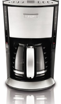 Krups Km1000 Coffee Maker Programmable 10 Cup : Black & Decker DCM2590 SmartBrew 8-Cup Drip Coffeemaker with Thermal Carafe, Black Coffee ...