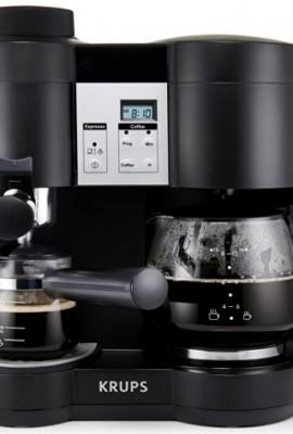 KRUPS-XP160050-Coffee-Maker-and-Espresso-Machine-Combination-Black-0