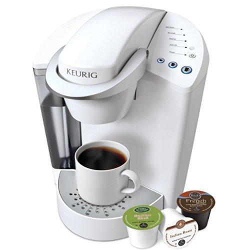 Coffee consumers keurig k45 elite coconut white with for Keurig k45