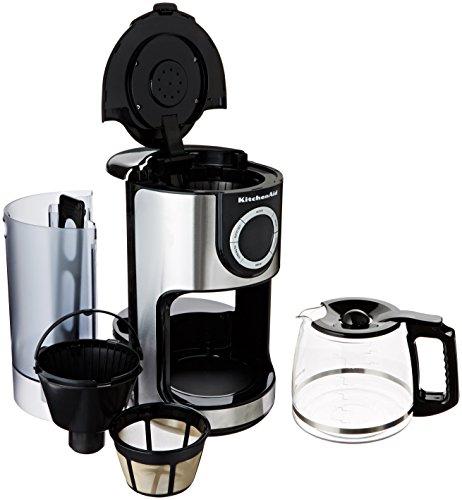 Kitchenaid Coffee Maker Glass Carafe : Coffee Consumers KitchenAid KCM1202OB 12-Cup Glass Carafe Coffee Maker Onyx Black