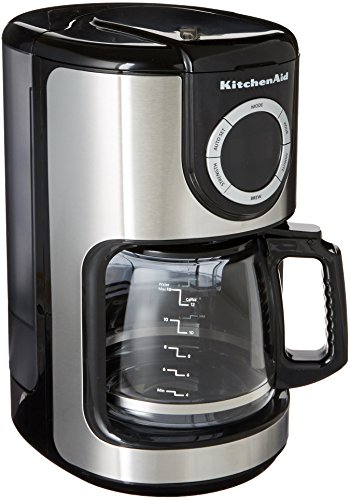 Coffee Consumers Kitchenaid Kcm1202ob 12 Cup Glass Carafe Coffee