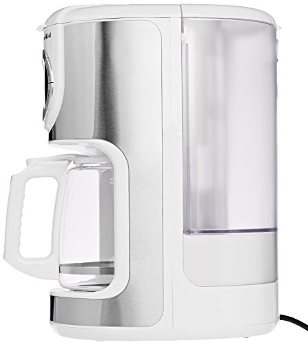 Coffee Consumers KitchenAid KCM1202WH 12-Cup Glass Carafe Coffe Maker White