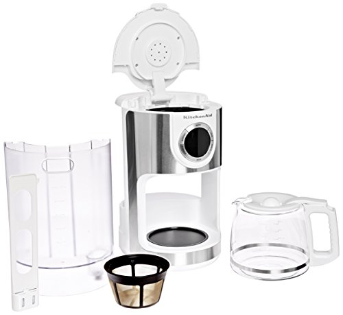 Coffee Consumers Kitchenaid Kcm1202wh 12 Cup Glass