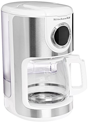 Coffee Consumers | KitchenAid KCM1202WH 12-Cup Gl Carafe Coffe ... on black and decker coffee maker, braun coffee maker, thermal coffee maker, viking coffee maker, coffee maker grinder, thermal carafe coffee maker, capresso coffee maker, dual coffee maker, 14 cup coffee maker, starbucks coffee maker, automatic coffee machines, cuisinart coffee maker, blue coffee maker, 4 cup coffee makers, 1 cup coffee maker, 4 cup coffee maker, spacemaker coffee maker, vacuum coffee maker, farberware coffee maker, black & decker coffee maker, bunn coffee maker, target red coffee maker, 60 cup coffee maker, mr coffee maker, grind and brew coffee makers, 12 cup coffee maker, personal coffee maker, under cabinet coffee maker, nespresso coffee maker,