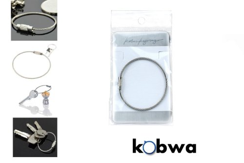 KobwaTM-Silver-Stainless-Steel-Drum-Milk-Frothing-Pitcher-Thicken300ml-With-Kobwas-Keyring-0-2