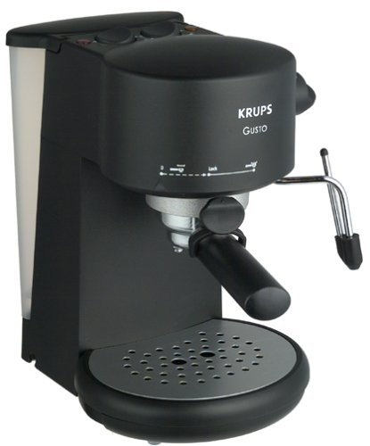 coffee consumers krups 880 42 gusto pump espresso machine. Black Bedroom Furniture Sets. Home Design Ideas