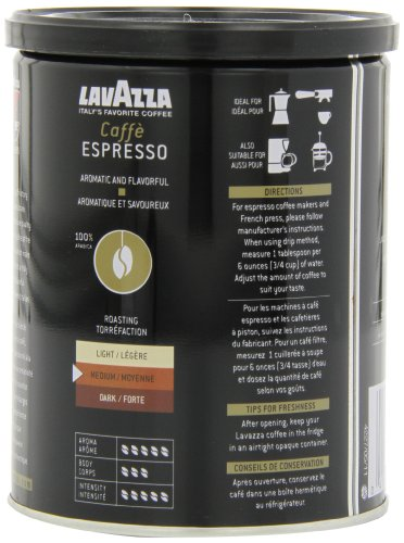 Lavazza-Caffe-Espresso-Ground-Coffee-8-Ounce-Cans-Pack-of-4-0-2