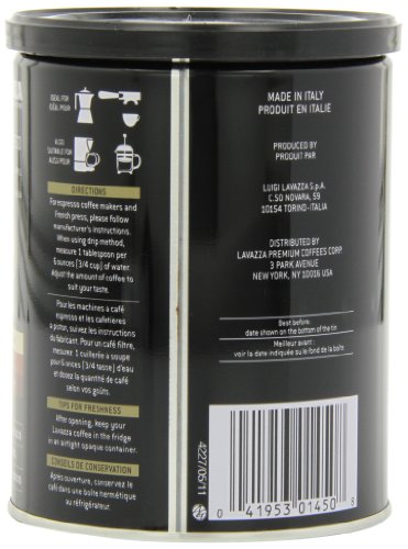 Lavazza-Caffe-Espresso-Ground-Coffee-8-Ounce-Cans-Pack-of-4-0-3