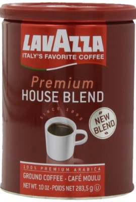 Lavazza-Premium-House-Blend-Coffee-10-Ounce-Pack-of-4-0