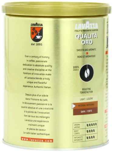 Lavazza-Qualita-Oro-Ground-Coffee-88-Ounce-Cans-Pack-of-4-0-0