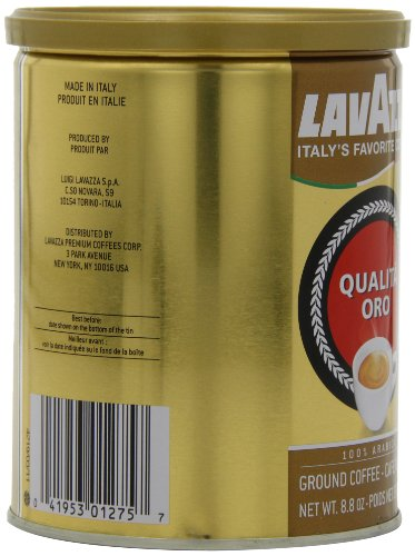 Lavazza-Qualita-Oro-Ground-Coffee-88-Ounce-Cans-Pack-of-4-0-4