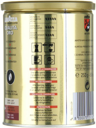 Lavazza-Qualita-Oro-Ground-Coffee-88-Ounce-Cans-Pack-of-4-0-6