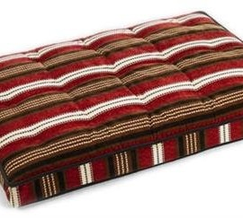 Luxury-Crate-Mattress-Dog-Bed-Size-X-Large-Color-Bowser-Stripe-0