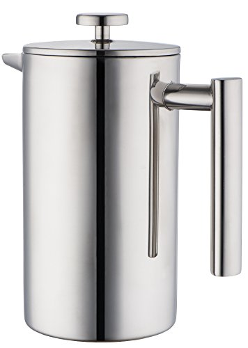 coffee consumers mira stainless steel french press coffee plunger press pot tea brewer. Black Bedroom Furniture Sets. Home Design Ideas