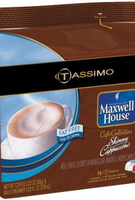Maxwell-House-Caf-Collection-Skinny-Cappuccino-Fat-Free-T-Discs-for-Tassimo-Systems-16-discs8-servings-0
