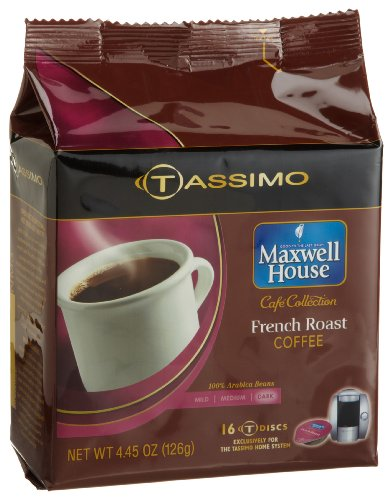 Maxwell-House-Cafe-Collection-French-Roast-Coffee-Dark-16-Count-T-Discs-for-Tassimo-Coffeemakers-Pack-of-2-0-0