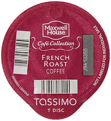 Maxwell-House-Cafe-Collection-French-Roast-Coffee-Dark-16-Count-T-Discs-for-Tassimo-Coffeemakers-Pack-of-2-0
