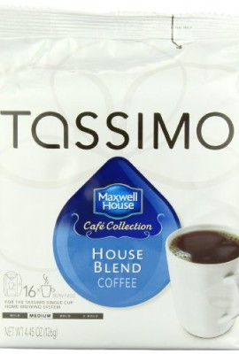 Maxwell-House-Cafe-Collection-House-Blend-Coffee-T-Discs-for-Tassimo-Coffeemakers-16-Count-Packages-445-Ounces-Pack-of-5-0