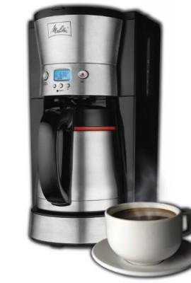 Melitta-46894A-10-Cup-Thermal-Programmable-Coffeemaker-with-Frustration-Free-Packaging-0