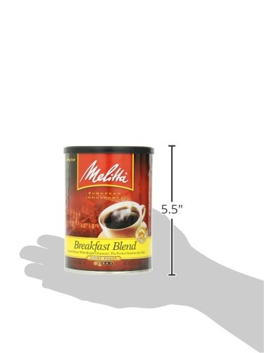 coffee consumers melitta coffee breakfast blend ground light roast 11 ounce. Black Bedroom Furniture Sets. Home Design Ideas