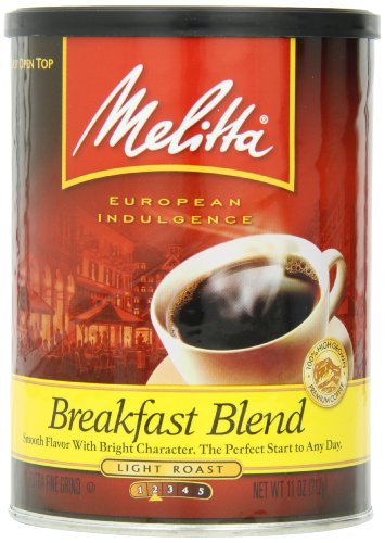 coffee consumers melitta coffee breakfast blend ground. Black Bedroom Furniture Sets. Home Design Ideas