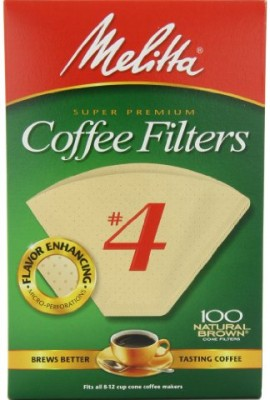 Melitta-Cone-Coffee-Filters-Natural-Brown-No-4-100-Count-Filters-Pack-of-6-0