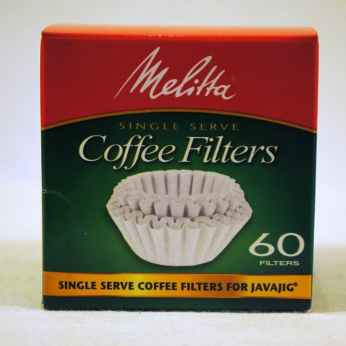 Coffee Consumers Melitta 63229 Single Serve Coffee Filters For Javajig 60 Count