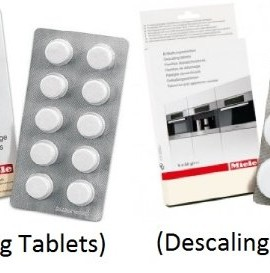 miele coffee machine cleaning tablets