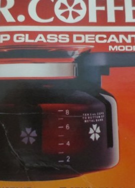 Mr-Coffee-10-Cup-Glass-Decanter-Carafe-Model-D-7-Fits-Black-Decker-Spacemaker-SDC2A-SDC2D-SDC3A-Bunn-Pour-Omatic-GR-General-Electric-GE-Spacemaker-SDC2-SDC3-Norelco-C164-C564-CT162-CT663-Dial-A-Brew-H-0