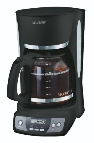 Mr Coffee Programmable Coffee Maker Cgx23 : Coffee Consumers Mr. Coffee CGX23 12-Cup Programmable Coffeemaker, Black