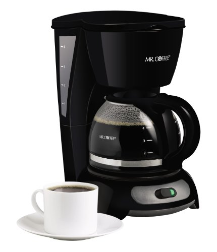 Coffee Maker Switch Replacement : Coffee Consumers Mr. Coffee TF5 4-Cup Switch Coffeemaker, Black