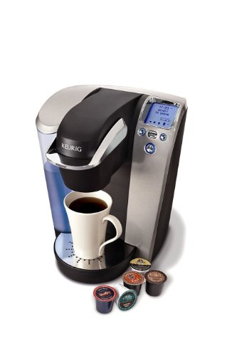 Coffee Consumers NEW Single Cup Coffee Maker Brewing System w Removable 60 oz. Water Reservoir
