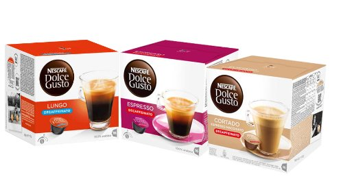 coffee consumers nescafe dolce gusto decaf set europa 30 capsules 30 servings. Black Bedroom Furniture Sets. Home Design Ideas