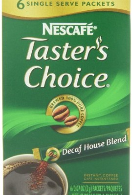 Nescafe-Tasters-Choice-Decaf-House-Blend-Instant-Coffee-6-Count-Single-Serve-Sticks-Pack-of-12-0