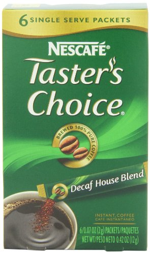 Coffee Consumers Nescafe Taster S Choice Decaf House