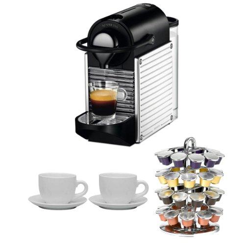 Nespresso-C60USSSNE-Pixie-Espresso-Maker-Chrome-Nifty-40-Capsule-Coffee-Carousel-Accessory-Kit-0