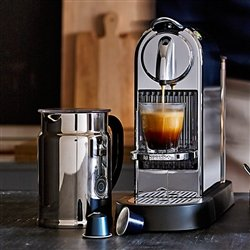 coffee consumers nespresso citiz c111 espresso maker. Black Bedroom Furniture Sets. Home Design Ideas