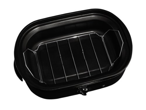 Coffee Consumers Oster CKSTRS18-BSB 18-Quart Roaster Oven with Self-Basting Lid, Black Finish