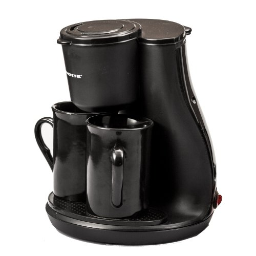 Coffee Consumers Ovente Cm3bb Two Serving Coffeemaker With 2