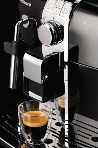 saeco pure automatic espresso machine manual