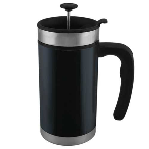 Coffee Consumers Planetary Design Desk Press Stainless Steel French Press Black
