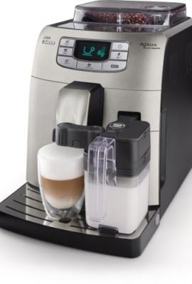 SAECO-HD875387-Philips-Intellia-Cappuccino-Fully-Automatic-Espresso-Machine-0