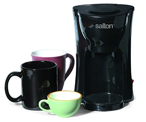 Coffee Consumers Salton FC1205 1-Cup Coffee Maker, Black