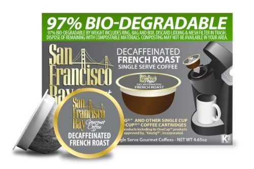Coffee Maker Repair San Francisco : Coffee Consumers San Francisco Bay OneCup, Decaf French Roast, 36 Single Serve Coffees