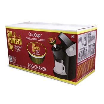 Coffee Maker Repair San Francisco : Coffee Consumers San Francisco Bay Coffee OneCup for Keurig K-Cup Brewers, Fog Chaser (160 Count)