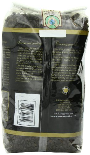 Coffee Maker Repair San Francisco : Coffee Consumers San Francisco Bay Coffee Whole Bean, French Roast, 32 Ounce (Pack of 2)