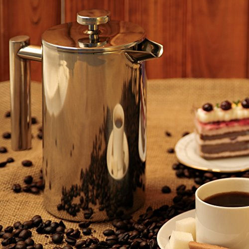 Coffee Consumers Secura Stainless Steel French Press Coffee Maker