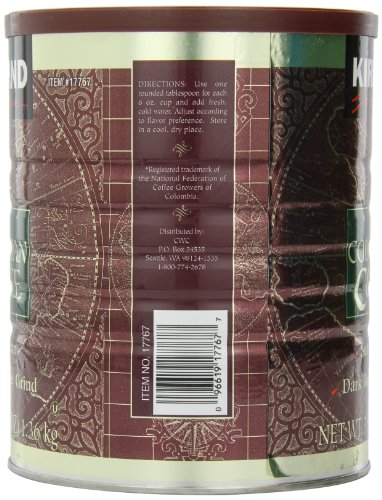 Signature-100-Colombian-Coffee-Supermo-Bean-Drak-Roast-Fine-Grind-3-Pound-0-0
